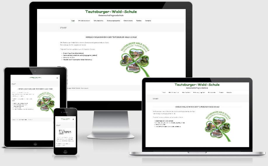 Teutoburger-Wald-Schule, Tecklennburg, Brochterbeck, Ledde, Leeden
